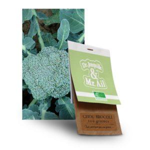 graine chou brocolis bio