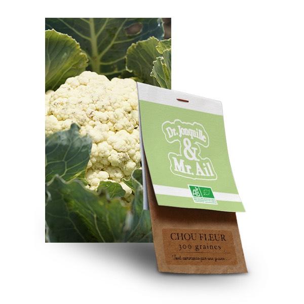 graine chou fleur bio - Dr. Jonquille & Mr. Ail