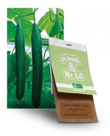 graine concombre long bio - Dr. Jonquille & Mr. Ail