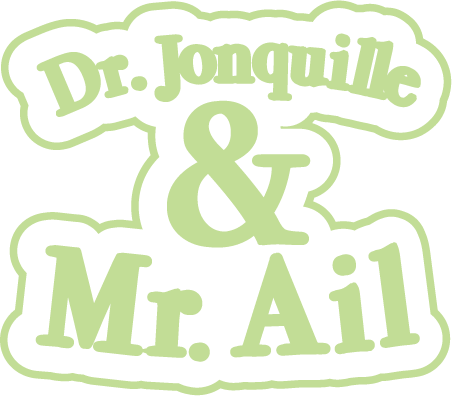 Dr. Jonquille & Mr. Ail - logo