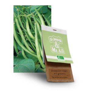 graine haricot vert bio - Dr. Jonquille & Mr. Ail