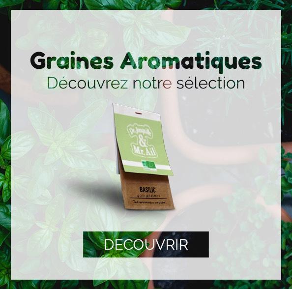 Dr. Jonquille & Mr. Ail - Les graines bio Aromatiques
