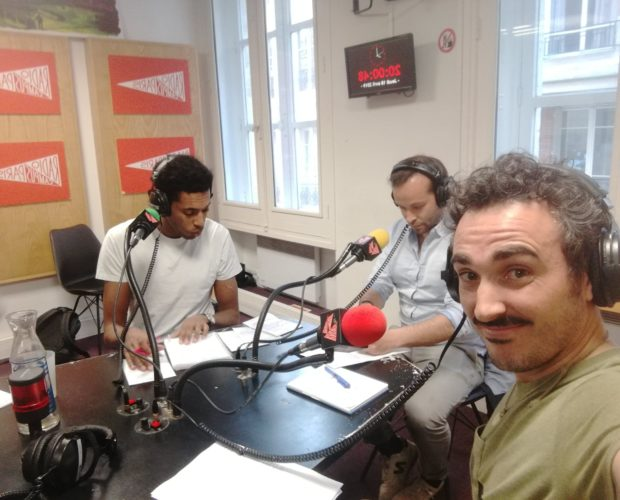 Dr. Jonquille & Mr. Ail sur Radio Campus Paris
