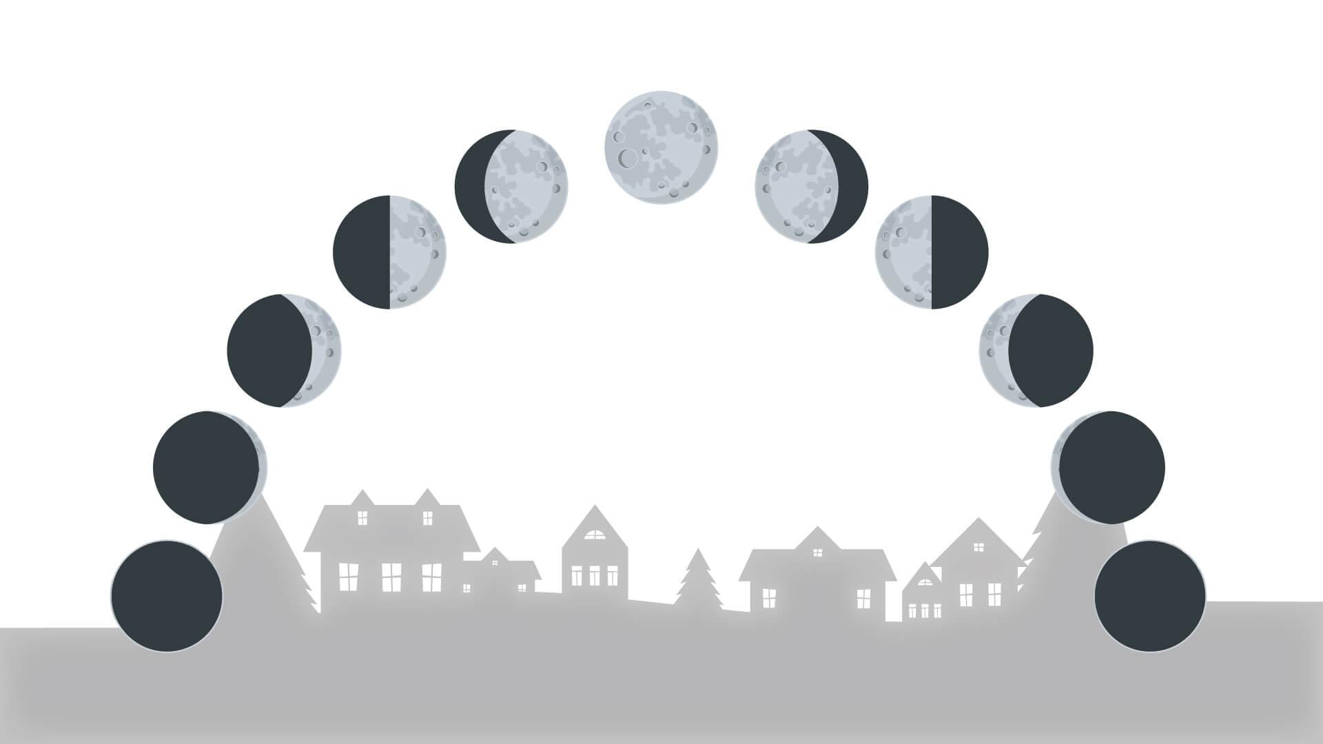 Jardiner avec la Lune - Lune Croissante et Décroissante - Blog DJMA