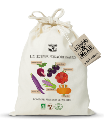Kit de jardinage - Les légumes extraordinaires