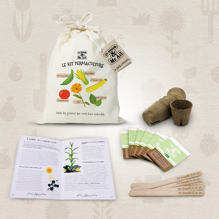 Contenu Kit permaculture