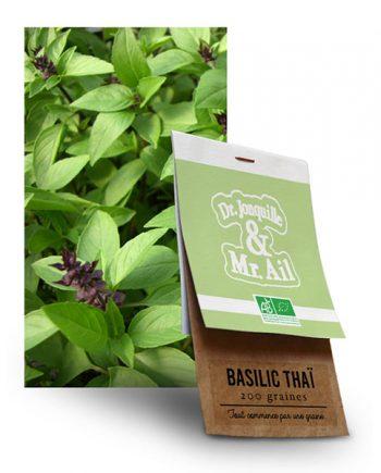 Graine Basilic Thai BIO