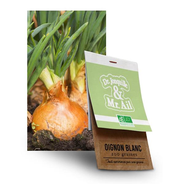 Graine Oignon Blanc BIO