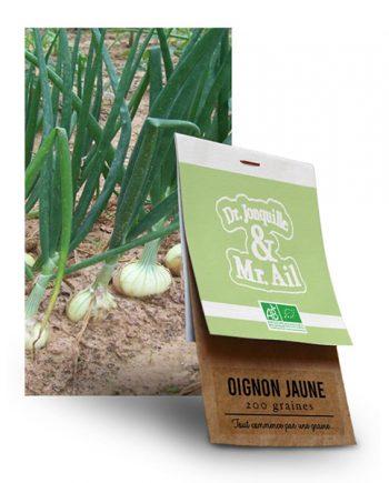 Graine Oignon Jaune BIO