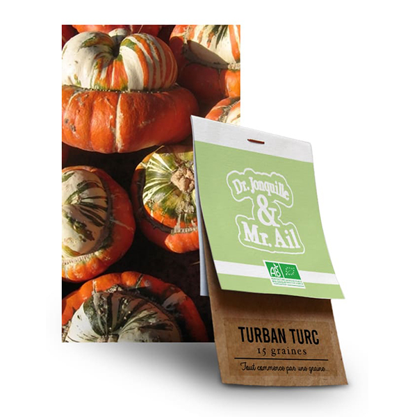 Graine Turban Turc BIO