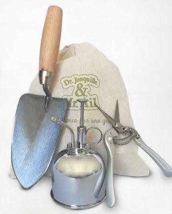 Kit d'outils pour Jardinier Dr. Jonquille & Mr. Ail