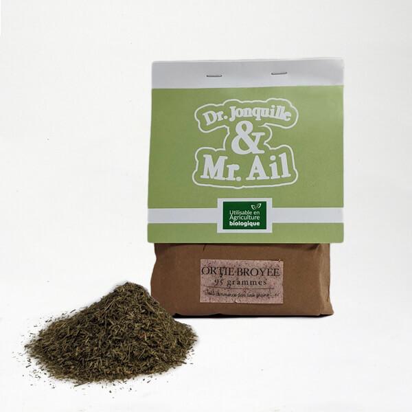 Poudre d'ortie - engrais naturel en sachet de 95g