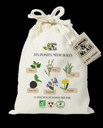 Kit de jardinage - Les plantes médicinales