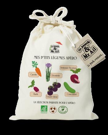 Kit de jardinage - Mes p'tits légumes apéro