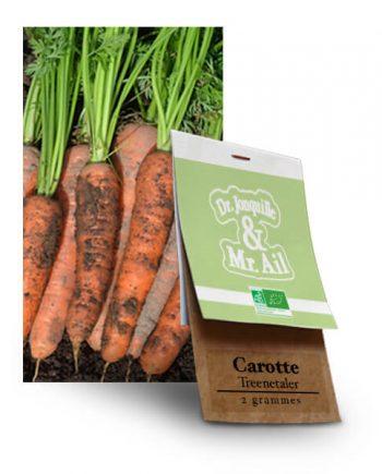 Graines Bio Carottes Treenetaler - Dr. Jonquille & Mr. Ail