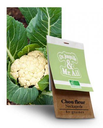 Graines Bio - Chou Fleur Neckarperle - Dr. Jonquille & Mr. Ail