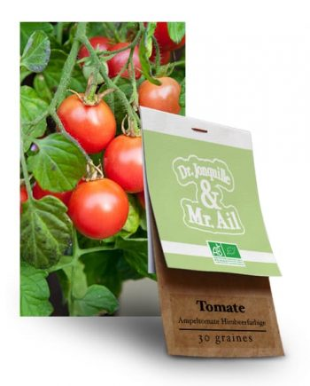 Graines Bio - Tomate Ampeltomate Himbeerfarbige - Dr. Jonquille & Mr. Ail