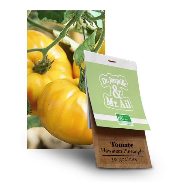 Graines Bio Tomate Hawaian Pineaple - Dr. Jonquille & Mr. AIl
