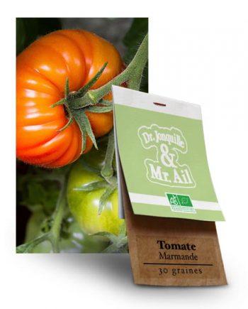 Graines Tomate Marmande BIO - Dr. Jonquille & Mr. Ail
