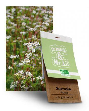 Graines Bio et Reproductibles Sarrasin Panda